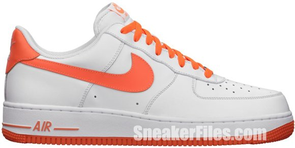 Nike Air Force 1 Low White/Total Orange
