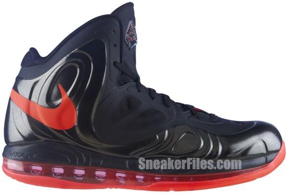 new styles b552c 45cf0 Nike Air Max Hyperposite 'Black/Bright Crimson-Black' - Official ...