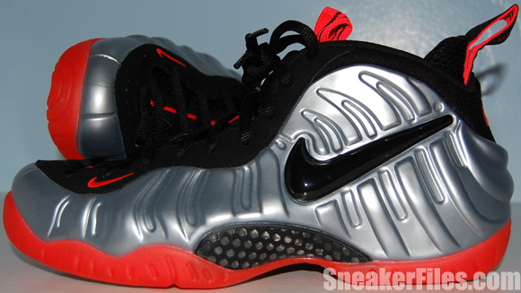 Nike Foamposite Pro Crimson Metallic Platinum Video Review