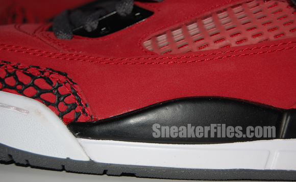 Raging Bull Air Jordan Spizike Red Black Epic Look