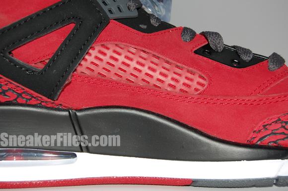 Raging Bull Air Jordan Spizike Red Black Epic Look