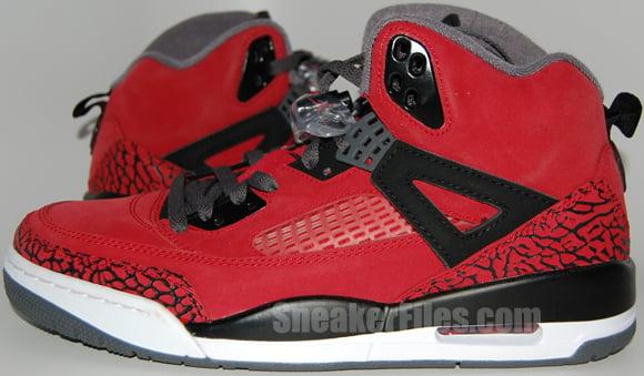 986fd604a1f6 Raging Bull Air Jordan Spizike Red Black - Epic Look