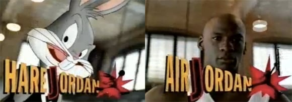 Throwback: Air Jordan 7 (VII) Hare Jordan Bugs Bunny Original Commercial