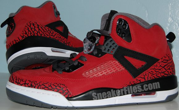 Video: Air Jordan Spizike Toro Red (Raging Bulls)