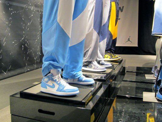 Air Jordan 1 'UNC', 'Georgetown' and 'Marquette'