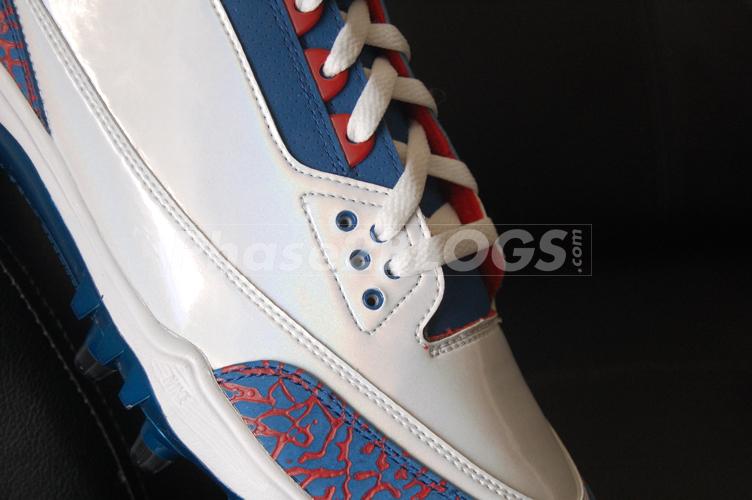 Air Jordan III (3) Michael Vick PE Pro Bowl Cleats  fbea399aa