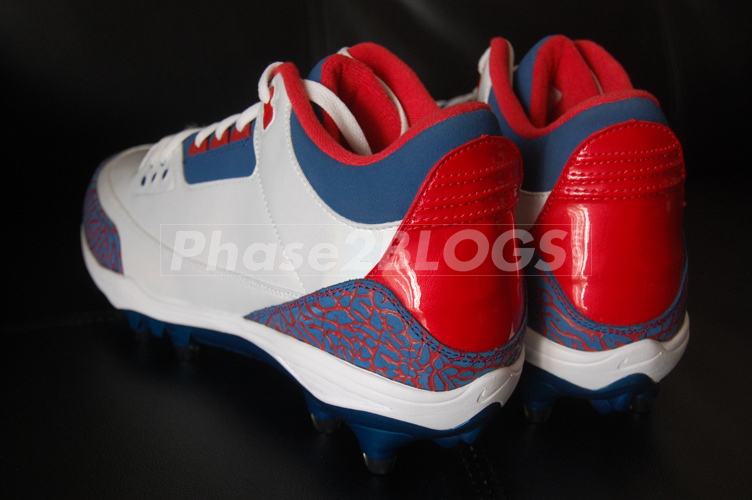 Air Jordan III (3) Michael Vick PE Pro Bowl Cleats