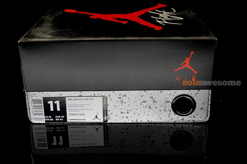 Air Jordan IV (4) 'Thunder' – New Images