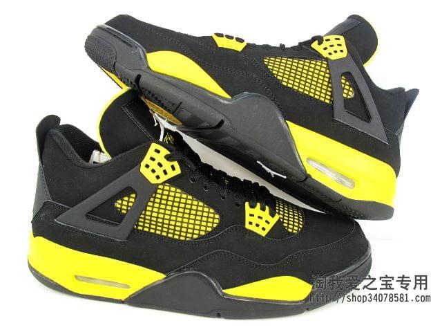 Air Jordan IV (4) 'Thunder' - New Images