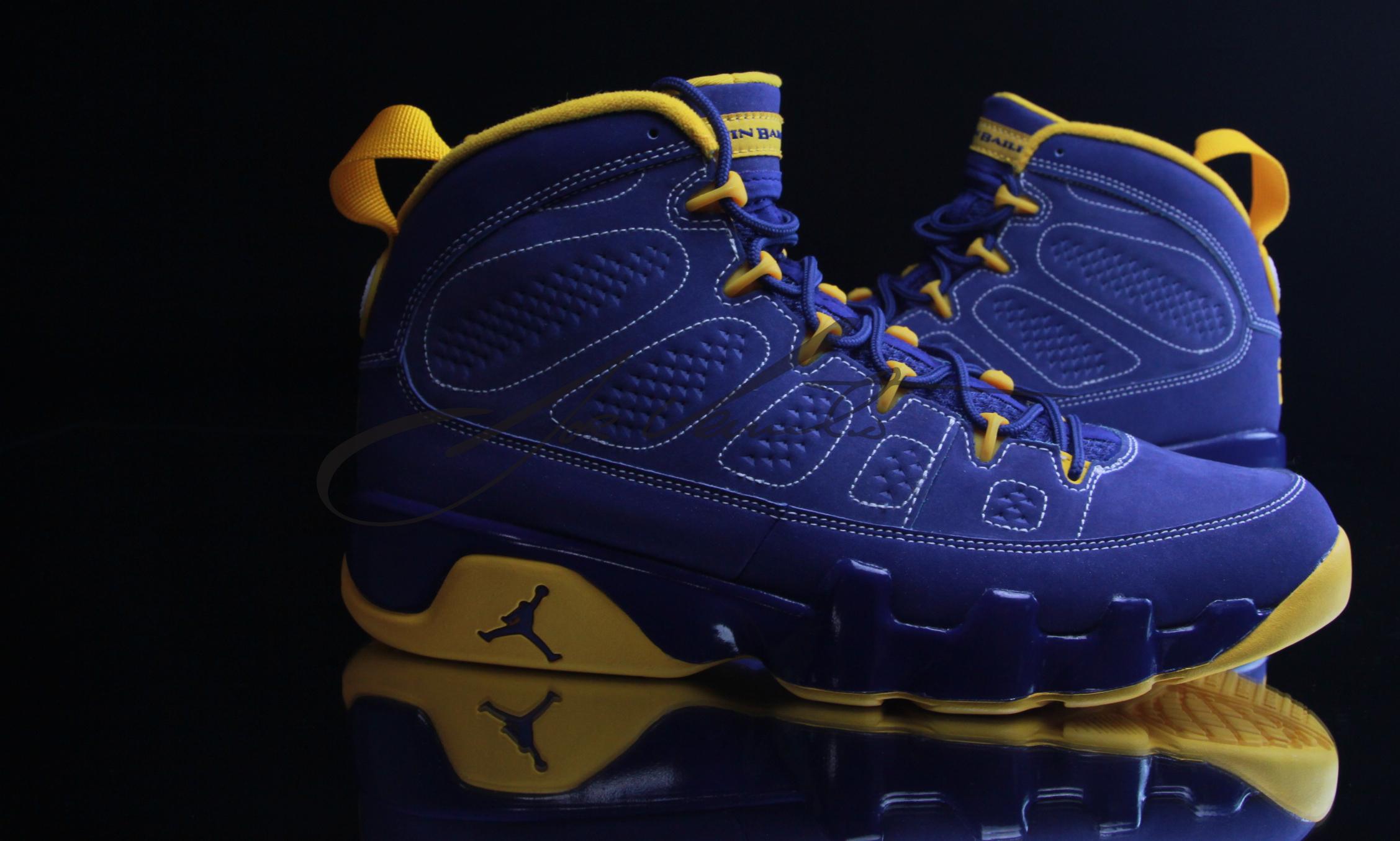 Air Jordan IX (9) 'Calvin Bailey' - Detailed Look