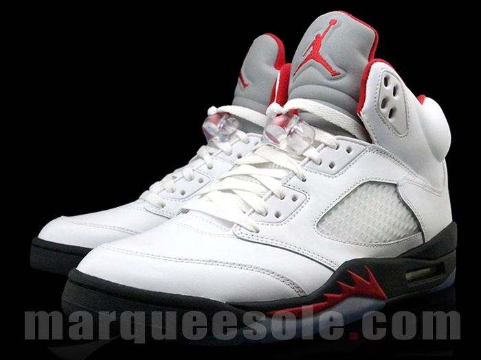 Air Jordan V (5) 'Fire Red' 2013 Retro