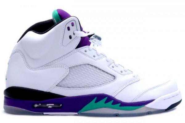 Air Jordan V (5) 'Grape' 2013 Retro - Release Date + Info