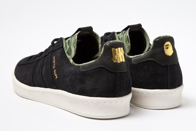 Bape x UNDFTD x adidas Originals Campus 80s