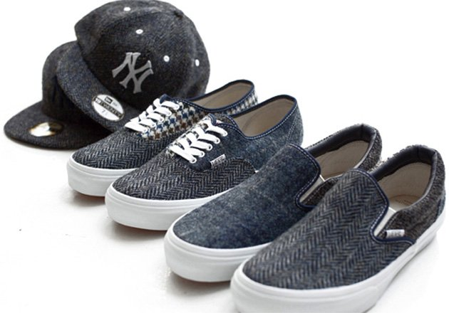 Beauty & Youth x Vans Harris Tweed Collection
