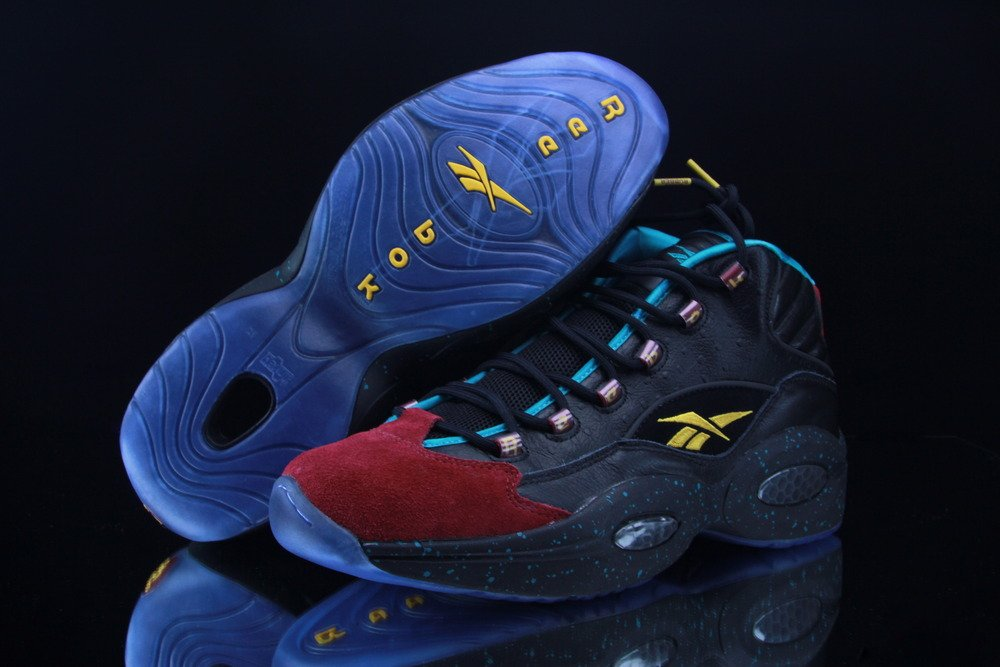 Burn Rubber x Reebok Question for Apollos Young 'The Inquiry' - Now Available