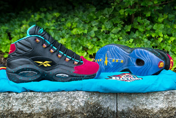 Burn Rubber x Reebok Question for Apollos Young 'The Inquiry' at Packer Shoes
