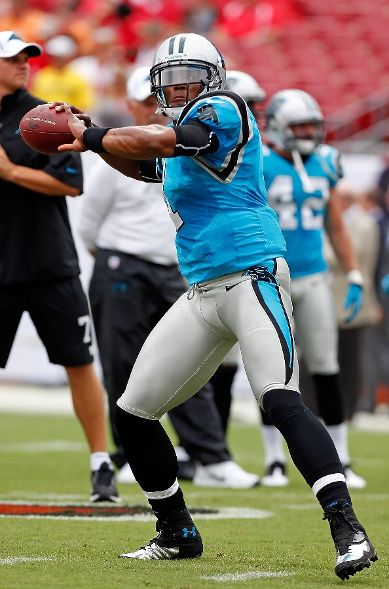 Cam Newton Debuts the Under Armour Cam Highlight