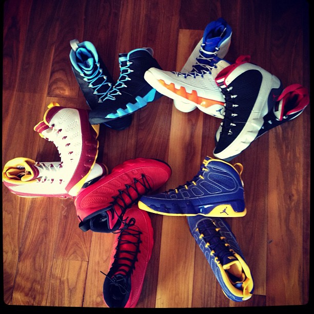 Chris Paul Showcases the Air Jordan IX (9) Alter Egos Pack
