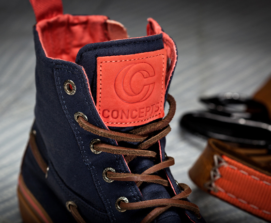 Concepts x Sperry Top-Sider Sailmakers Loft Topsider