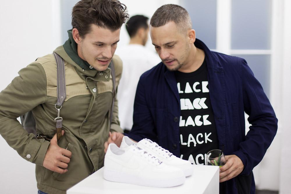 Dover Street Market x Nike AF1 Berlin Launch