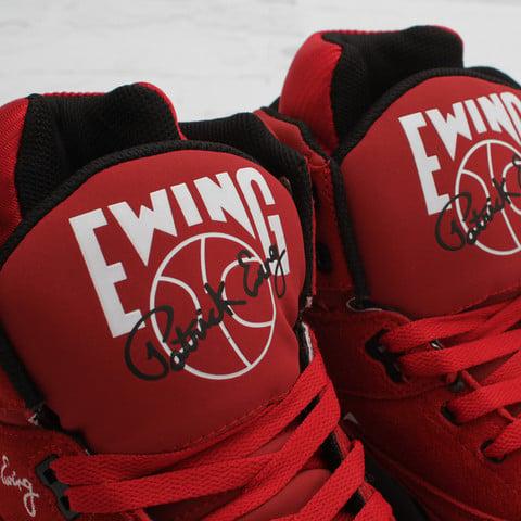 Ewing 33 Hi 'Red/Black' at Concepts