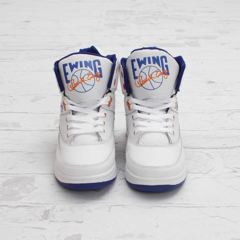 Ewing 33 Hi 'White/Blue' at Concepts