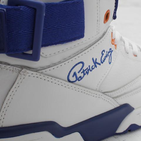Ewing 33 Hi 'White/Blue' at Concepts