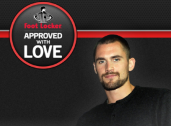 Foot Locker Launches #ApprovedWithLove with Kevin Love