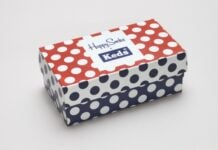 Happy Socks x Keds Polka Dot Shoes 'N' Socks Pack