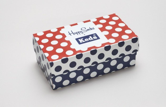 Happy Socks x Keds Polka Dot Shoes 'N' Socks Pack
