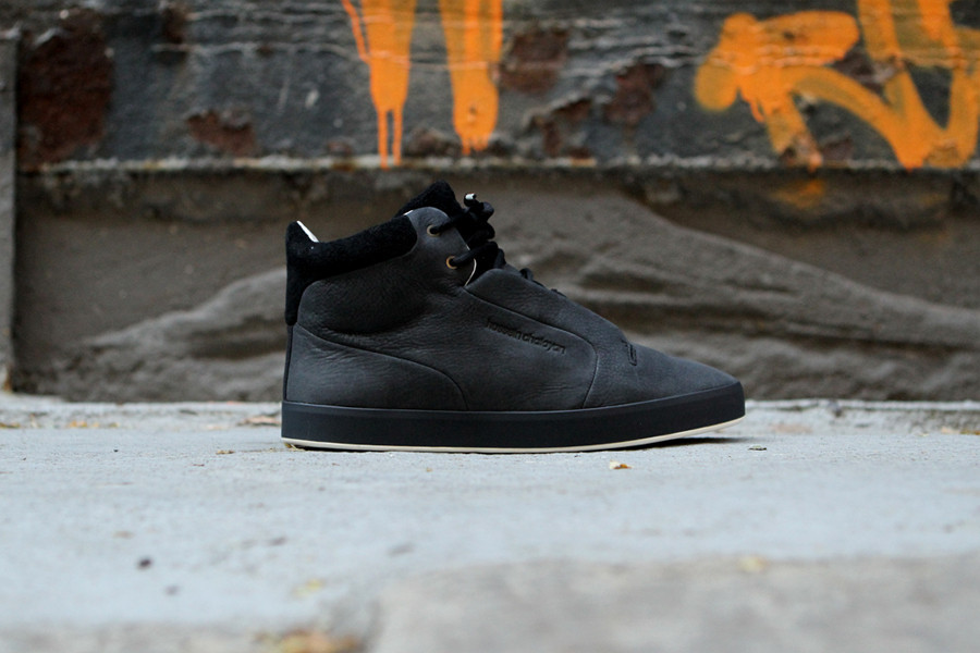 Hussein Chalayan x PUMA Glide II Mid 'Anthracite' at Kith NYC
