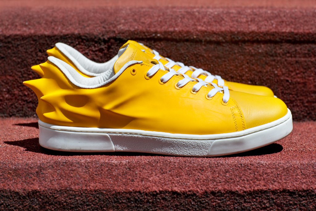 Hussein Chalayan x PUMA Urban Swift 'Yellow'