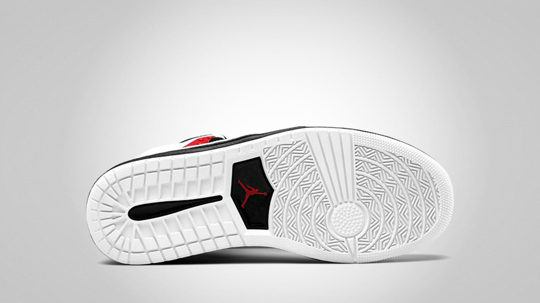 Jordan Sixty Club 'White/Gym Red-Black'