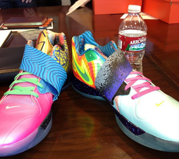 Kevin Durant Debuts the 'What The KD' Nike Zoom KD IV