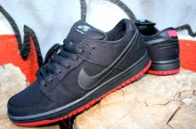Levi's x Nike SB Dunk Low 'Black' at Brooklyn Projects