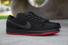 Levi's x Nike SB Dunk Low 'Black' at Primitive