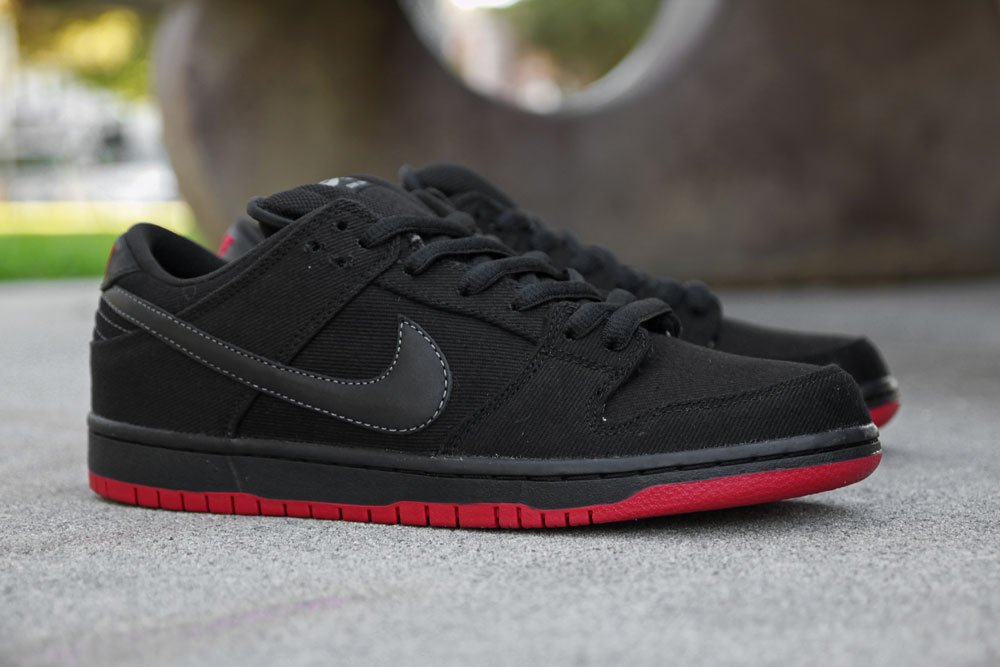 official photos a4fdd bf84f Levi's x Nike SB Dunk Low 'Black' at Primitive | SneakerFiles