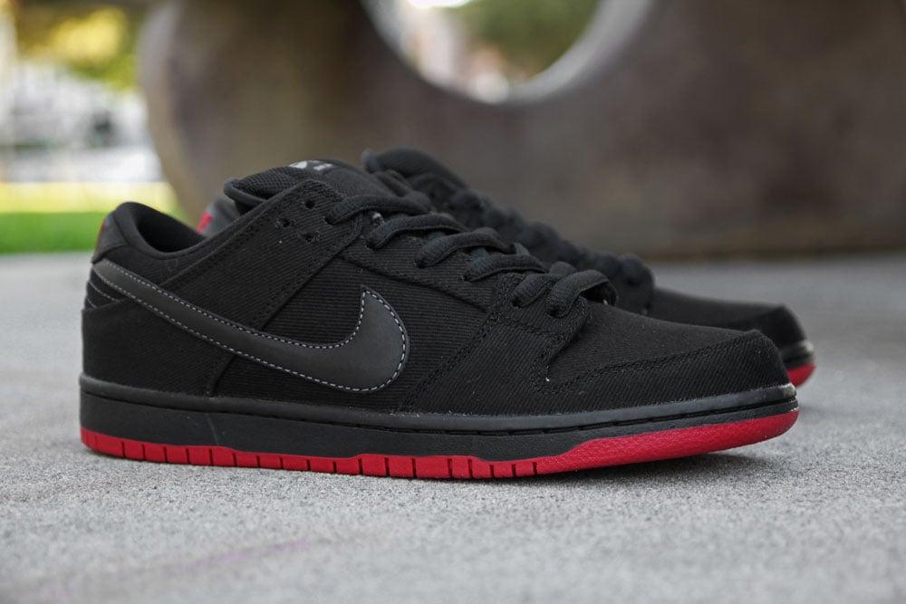 official photos e775e de43a Levi's x Nike SB Dunk Low 'Black' at Primitive | SneakerFiles