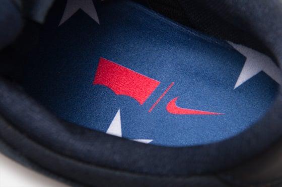 Levi's x Nike SB Dunk Low 'Dark Obsidian' at Atlas