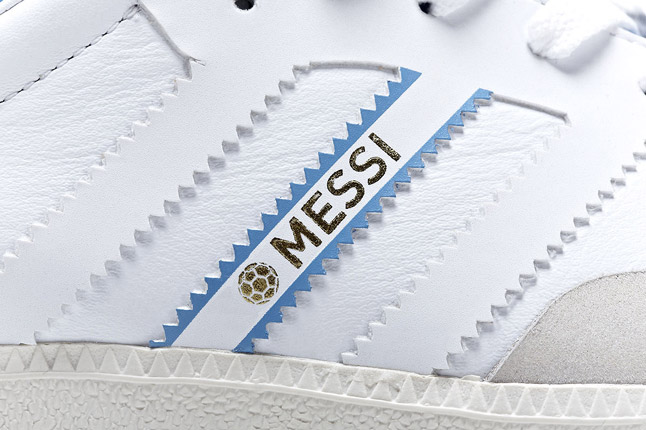 Lionel Messi x adidas Originals Samba