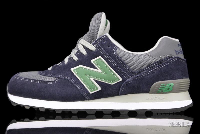 New Balance 574 'Navy/Green'