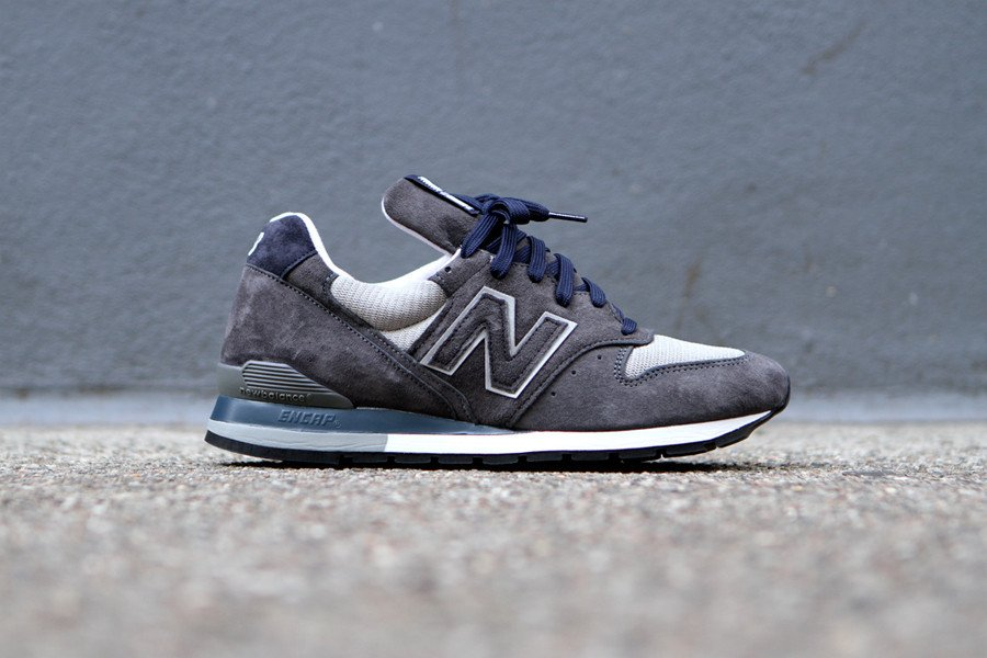 New Balance 996 'Dark Grey' at Kith NYC