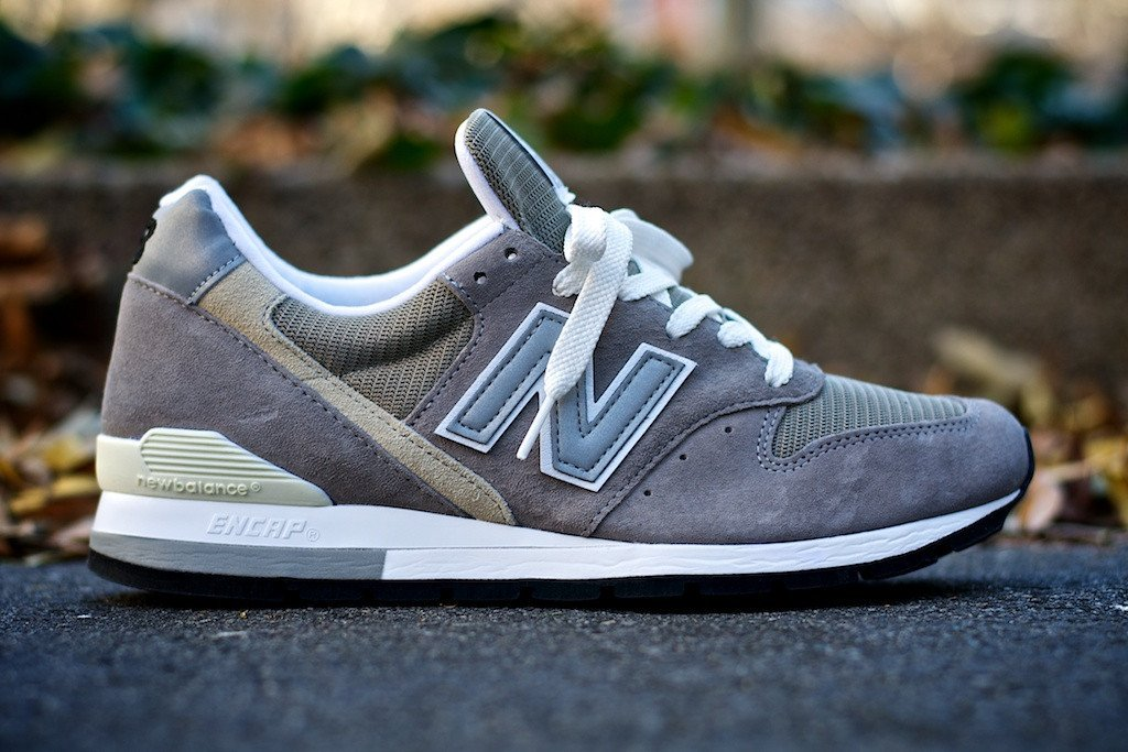 new balance 996 grey at kith nyc sneakerfiles