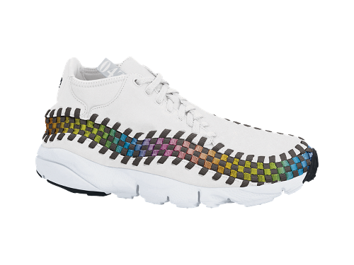 Nike Air Footscape Woven Chukka Premium QS Rainbow 'Sail/Sail-White' at NikeStore