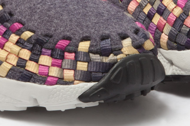Nike Air Footscape Woven Chukka Wool 'Purple' - New Images
