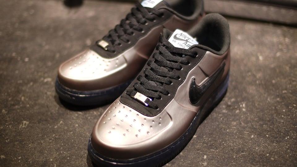 Nike Air Force 1 Foamposite Low 'Pewter' at mita