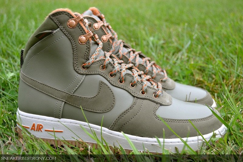 Nike Air Force 1 High Decon Military Boot 'Silver Sage/Medium Olive' at Sneaker Bistro