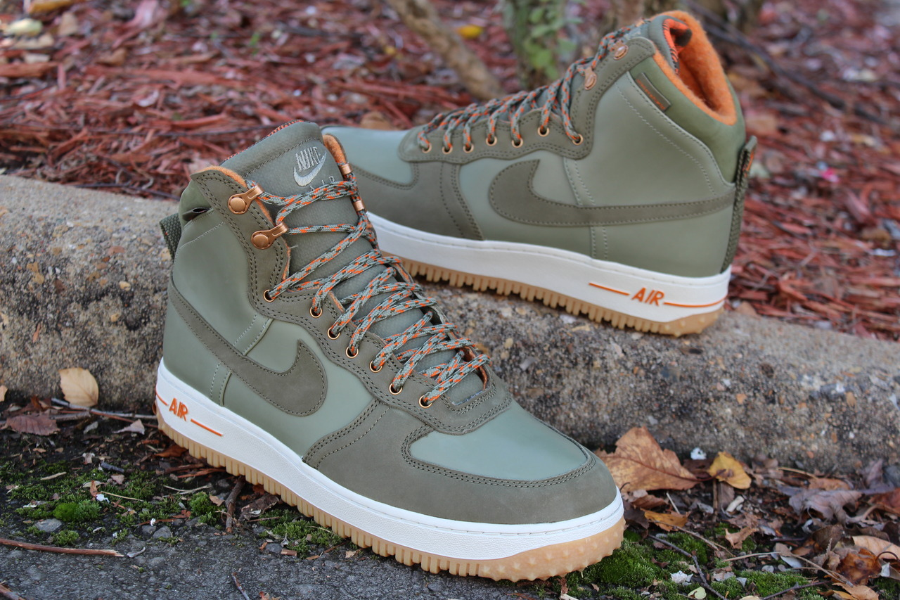 Nike Air Force 1 High Decon Military Boot 'Silver Sage/Medium Olive