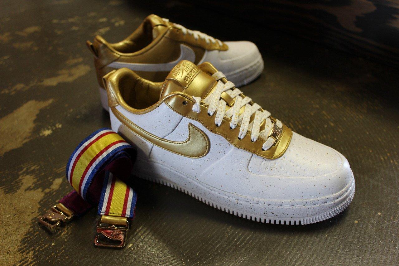 Nike Air Force 1 Low 'Gold Medal' at Rock City Kicks