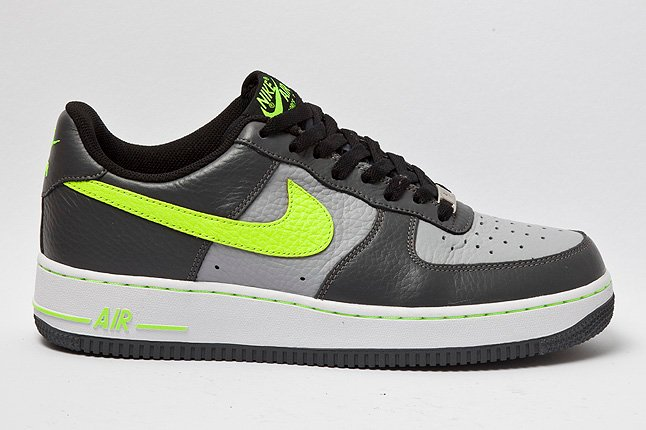 Nike Air Force 1 Low 'Grey/Black-Volt'